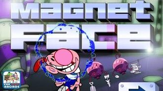 The Grim Adventures of Billy & Mandy Magnet Face (Cartoon Network Games)