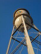 Warner Bros studios Burbank -water tower