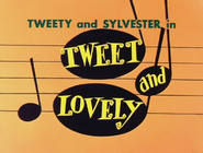Tweet and Lovely Title Card