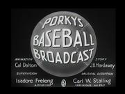Porky's Baseball Broadcast Title