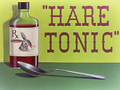 Hare Tonic Title Card