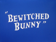 Bewitched Bunny Title Card