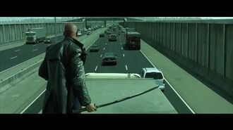 The Matrix Reloaded - Highway Chase HD