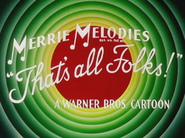 Dime to Retire Merrie Melodies Outro