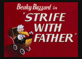 Strife With Father Title Card