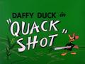 Quack Shot Title Card