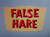 False Hare