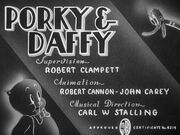 Porky & Daffy Title Card