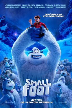 Smallfoot poster 2