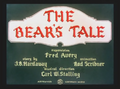 The Bear's Tale Title Card