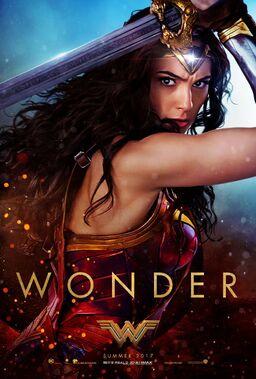Wonder Woman (2017) second teaser poster