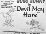Devil May Hare/Gallery