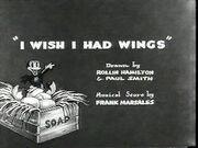 Iwishihadwings