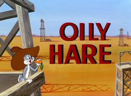 Oily Hare Title Card