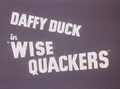 Wise Quackers Title Card