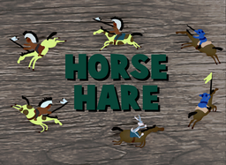 Horse Hare Title Card