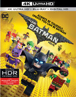 Lego batman movie 4k blu ray cover