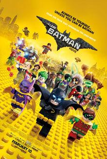 Lego batman poster