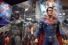 Batman v Superman costumes SDCC 2015