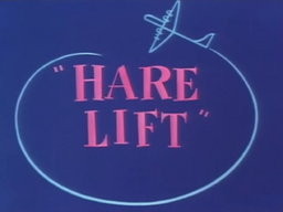 Hare Lift Title Card