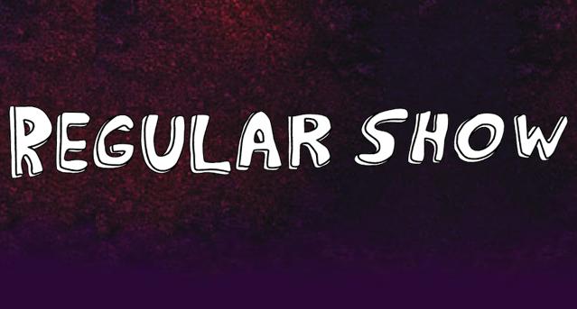 ת×צ×ת ת×××× ×¢××ר âªregular show logoâ¬â