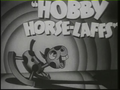 Hobby Horse-Laffs Title Card