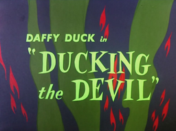 Ducking the Devil Title Card