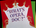 What's Opera, Doc Title Card