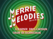 Dime to Retire Merrie Melodies Intro 2