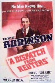 A Dispatch from Reuters 1940 poster