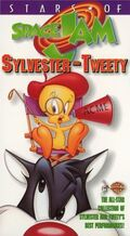 Stars of Space Jam Sylvester and Tweety