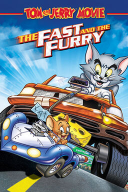 Tom and Jerry The Fast and the Furry cover