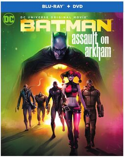 Batman Assault on Arkham 2016 re-release cover