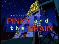 Pinky brain logo