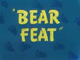 Bear Feat