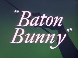 Baton Bunny Title Card