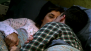 Sheldon kissing Amy