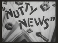 Nutty News Title Card
