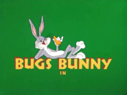 To Hare Is Human Bugs Bunny intro
