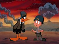 Daffy mad at Loud