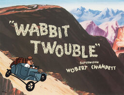 Wabbit Twouble Title Card (Wiki Info Box Only)
