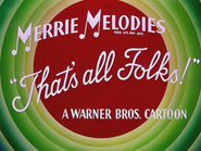 Hare Lift Merrie Melodies Outro