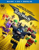 Lego batman movie blu ray cover