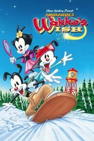 Wakko's Wish VHS cover