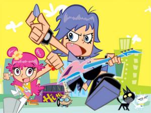 Hi Hi Puffy AmiYumi Characters