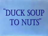 Duck Soup to Nuts