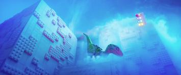 Lego velociraptors defeat