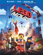 Lego movie blu ray cover