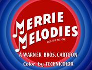 Beep, Beep Merrie Melodies Intro 2