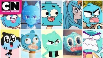 All the Animation Styles The Amazing World of Gumball Cartoon Network